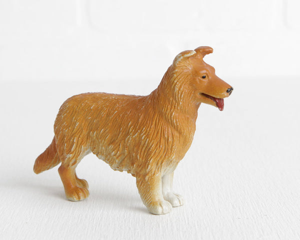 PVC Golden Retriever or Rough Collie at Lobster Bisque Vintage