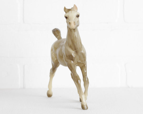 Breyer Glossy Gray Appaloosa Running Foal #133 at Lobster Bisque Vintage