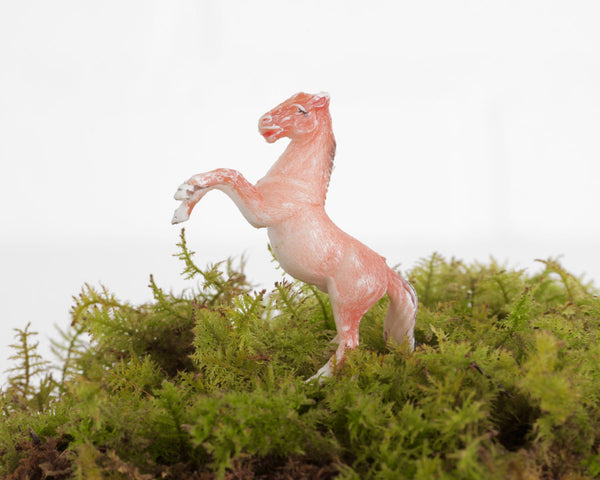 Miniature Rearing Horse at Lobster Bisque Vintage