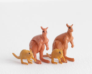 Kangaroo Family at Lobster Bisque Vintage
