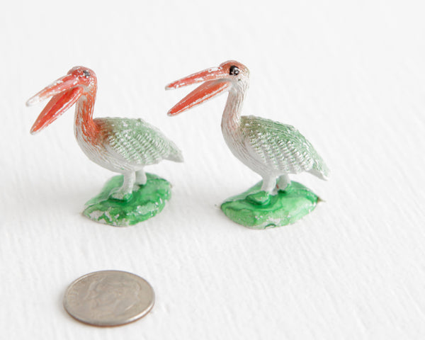 Pair of Pelicans at Lobster Bisque Vintage