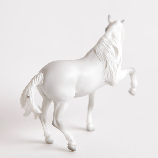 Breyer Mystery Horse Surprise Light Gray Andalusian Stallion