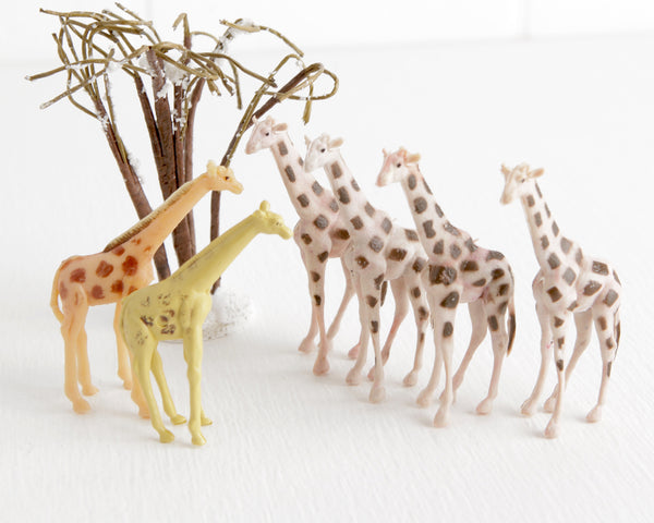 Lot of Giraffes at Lobster Bisque Vintage