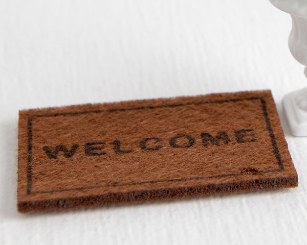Welcome Mat at Lobster Bisque Vintage