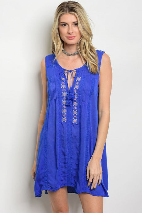 Royal Tunic Mini Dress