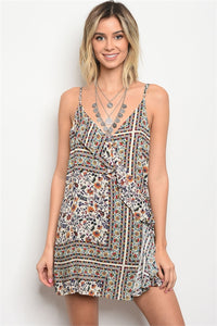 Plunging Back Romper