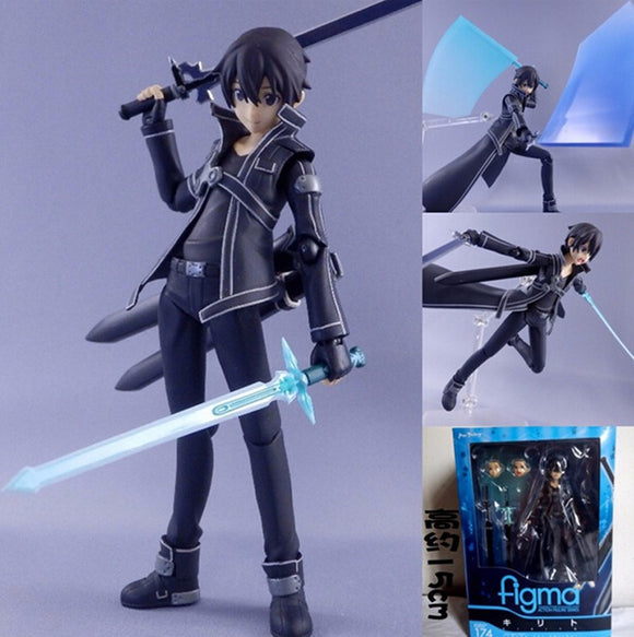 Action Figure Kirito - Sword Art Online