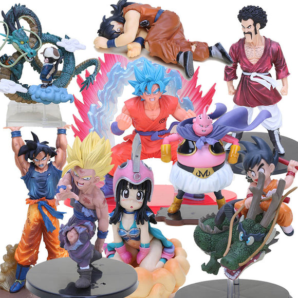 Conjunto de Actions Figures - Dragon Ball Z