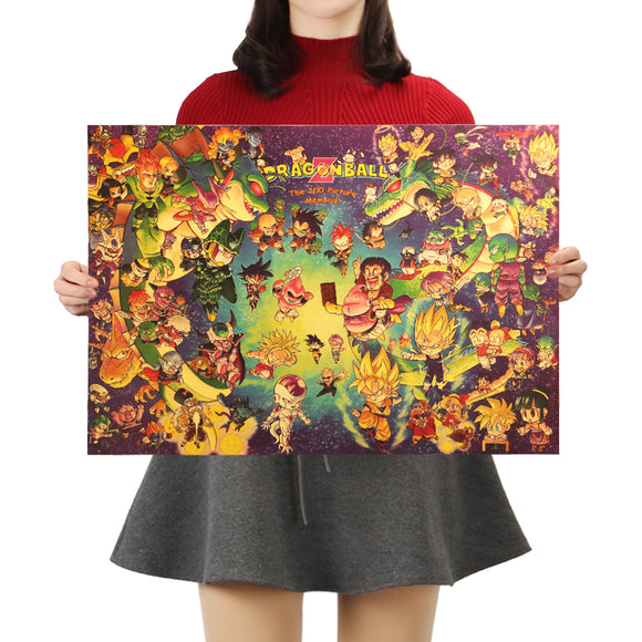 Poster personalizados - Dragon Ball