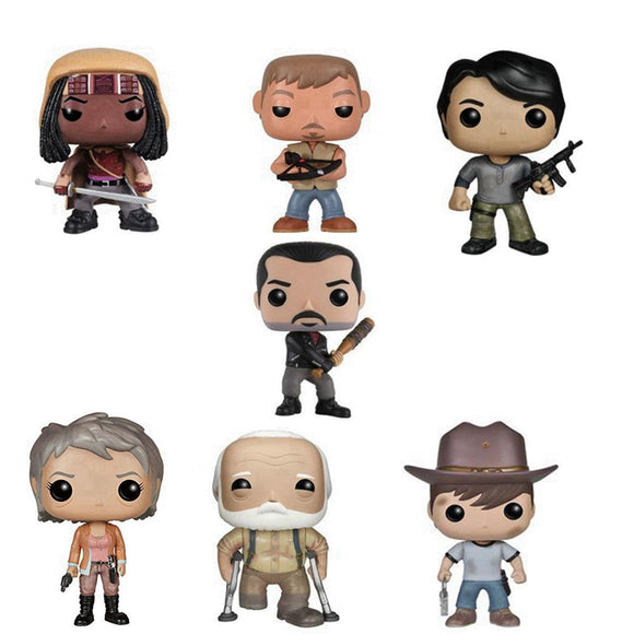 Coleção de Funko pop do The Walking Dead