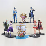Conjunto de Actions Figures - ONE PIECE