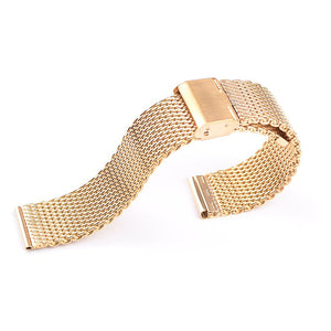 Milanese 1mm Stainless Steel Watch Band - thema cave