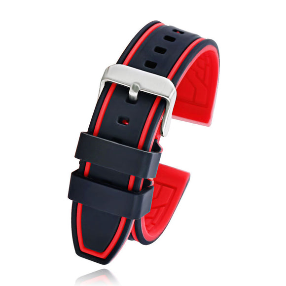 Diver Rubber Watch Band Strap