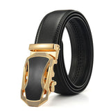 Automatic Buckle Leather Belt - thema cave