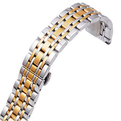 Butterfly Stainless Steel Watch Band
