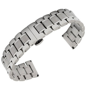 Butterfly Classic Stainless Steel Watch Band - thema cave