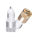 Car USB Charger Dual Ports - thema cave