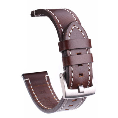 Genuine Leather Retro Watch Band