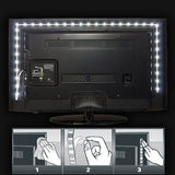 USB LED Strip Lights for TV - thema cave