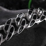 Stainless Steel Skull Chain Bracelet - thema cave