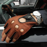 Driving Leather Gloves - thema cave