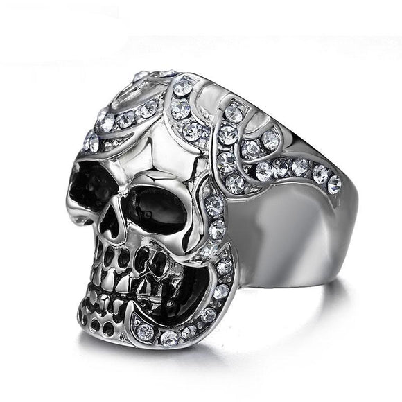 King Skull Ring - thema cave