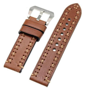 Thick Genuine Leather Watch Band - thema cave