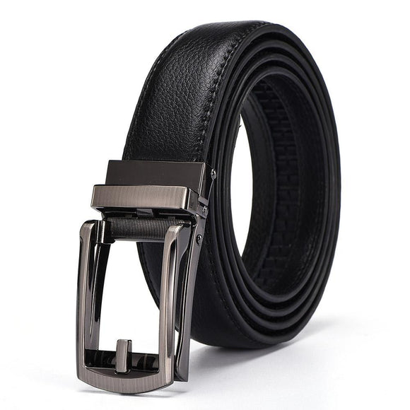 Duckbill Buckle Leather Belt - thema cave