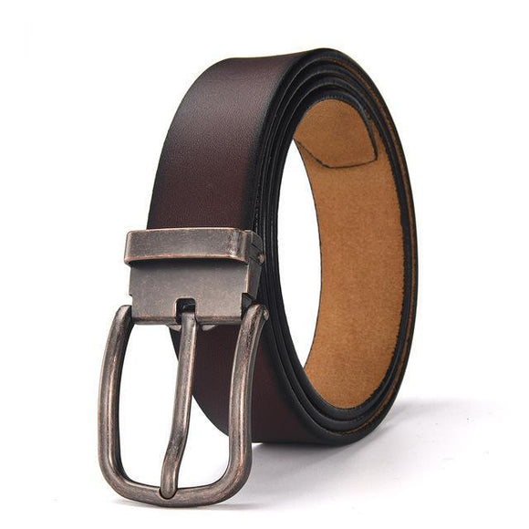 Pin Buckle Leather Belt - thema cave