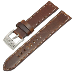 Vintage Genuine Leather Watch Band - thema cave