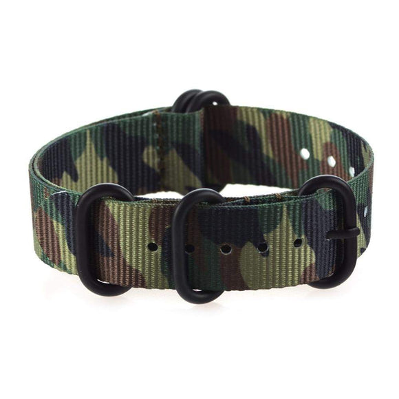 Camouflage Nylon Watch - thema cave
