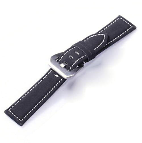 Frosted Leather Watch Band