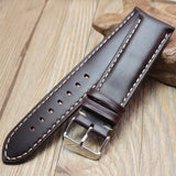 Leather Handmade Watch Band - thema cave