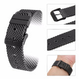 Holed Milanese Stainless Steel Watch Band - thema cave
