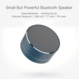 Metal Wireless Bluetooth Speaker - thema cave