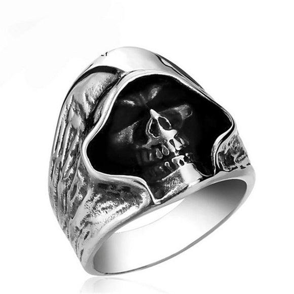 Punk Skull Ring - thema cave