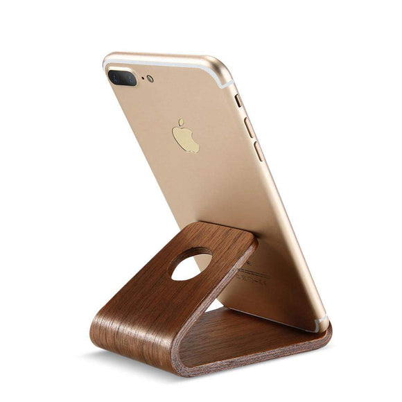 Wood Premium Phone Stand - thema cave