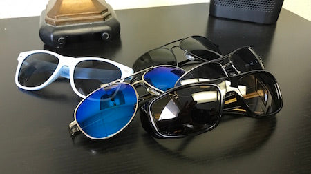 Sunglasses to be organized
