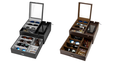 HOUNDSBAY Lookout Sunglasses Organizer Case Box