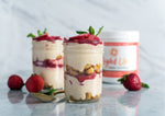 Light Up Strawberry Cheesecake Parfait