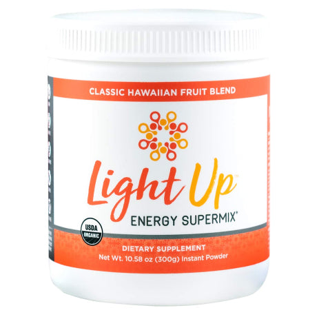 Light Up Organic Energy Supermix