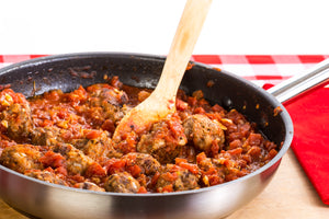 Turkey Meatball Ragu
