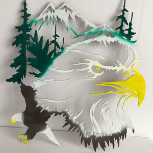 eagle metal art