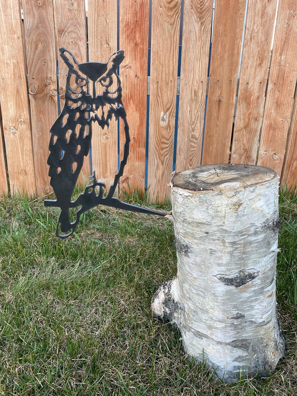 Owl Metal Art Bird