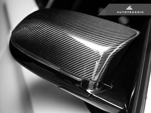 Shop AutoTecknic Replacement Carbon Fiber Mirror Covers - BMW F85 X5M | F86 X6M - AutoTecknic USA