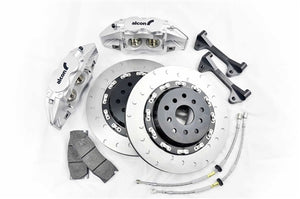 Shop Alcon Monobloc Brake Kit - Honda S2000 AP1 Front 4 Piston 332 X 28MM - AutoTecknic USA
