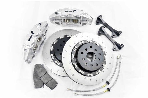 Shop Alcon Monobloc Brake Kit - Scion FRS | Subaru BRZ Front 4 Piston 332 X 28MM - AutoTecknic USA
