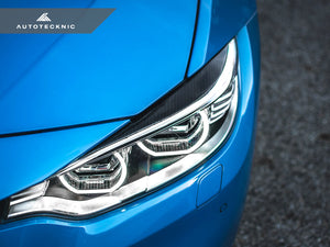 AutoTecknic Carbon Fiber Headlight Covers - F32/ F36 4-Series | F80 M3 | F82/ F83 M4