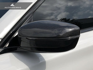 AutoTecknic Replacement Carbon Mirror Covers - G30 5-Series | G32 6-Series GT | G11 7-Series