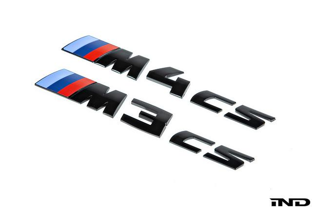 Shop IND Painted Trunk Emblem - F82 M4 CS - AutoTecknic USA